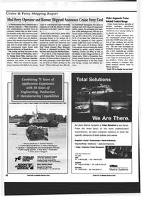 Maritime Reporter Magazine, page 28,  Jul 1999 Sardinia