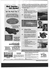 Maritime Reporter Magazine, page 2,  Jul 1999 the Marine Diesel Engine Guide