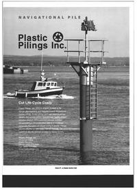 Maritime Reporter Magazine, page 47,  Jul 1999 Plastic Pilings Inc.