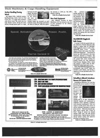Maritime Reporter Magazine, page 48,  Jul 1999 equipment manufacturer