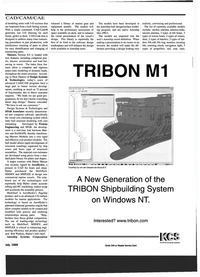 Maritime Reporter Magazine, page 55,  Jul 1999 ed new computer software