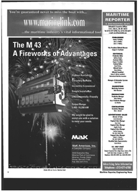 Maritime Reporter Magazine, page 4,  Jul 1999 Angela Criscola