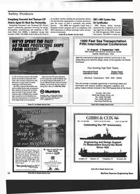 Maritime Reporter Magazine, page 64,  Jul 1999