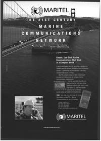 Maritime Reporter Magazine, page 5,  Jul 1999 voice and data transmission