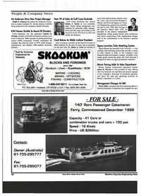 Maritime Reporter Magazine, page 68,  Jul 1999 Captair James