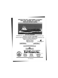Maritime Reporter Magazine, page 4th Cover,  Aug 1999
