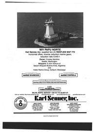 Maritime Reporter Magazine, page 4th Cover,  Sep 1999