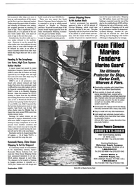 Maritime Reporter Magazine, page 15,  Sep 1999