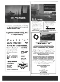 Maritime Reporter Magazine, page 50,  Sep 1999 Turboned International Network NOW IN PORT EVERGLADES