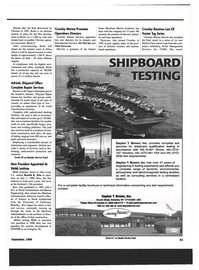 Maritime Reporter Magazine, page 65,  Sep 1999 California