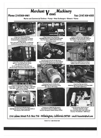 Maritime Reporter Magazine, page 72,  Sep 1999 Diameter Cab-Operated Electric Traveling Bridge