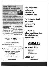Maritime Reporter Magazine, page 91,  Sep 1999 Direct Water Injection
