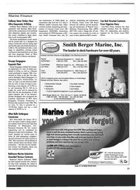 Maritime Reporter Magazine, page 17,  Oct 1999