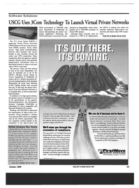 Maritime Reporter Magazine, page 23,  Oct 1999 Fast Ethernet
