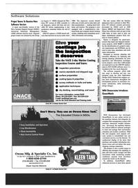 Maritime Reporter Magazine, page 24,  Oct 1999