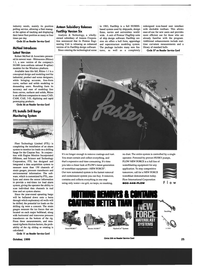 Maritime Reporter Magazine, page 25,  Oct 1999 FastShip design software