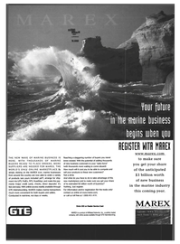 Maritime Reporter Magazine, page 1,  Oct 1999 GTE
