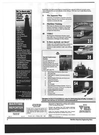 Maritime Reporter Magazine, page 2,  Oct 1999