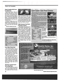 Maritime Reporter Magazine, page 38,  Oct 1999 Harman On Time Radio