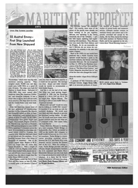 Maritime Reporter Magazine, page 52,  Oct 1999 Florida