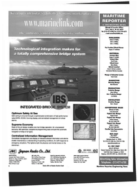 Maritime Reporter Magazine, page 4,  Oct 1999 New York