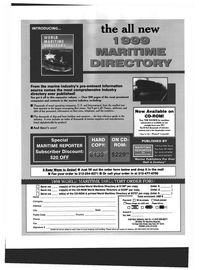 Maritime Reporter Magazine, page 62,  Oct 1999 New York
