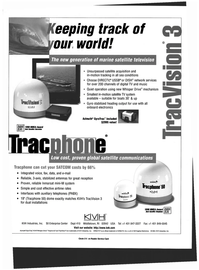 Maritime Reporter Magazine, page 69,  Oct 1999 satellite TV system