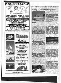 Maritime Reporter Magazine, page 70,  Oct 1999 United States Navy