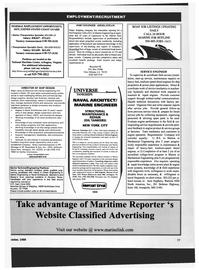 Maritime Reporter Magazine, page 85,  Oct 1999