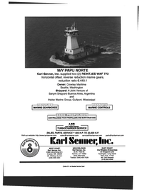 Maritime Reporter Magazine, page 4th Cover,  Oct 1999 Louisiana
