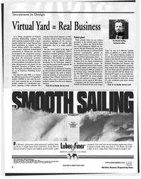 Maritime Reporter Magazine, page 8,  Nov 1999 Hans-Peter Wegener