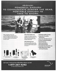 Maritime Reporter Magazine, page 9,  Nov 1999 Sailor Iridium