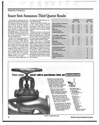 Maritime Reporter Magazine, page 10,  Nov 1999 Latin America