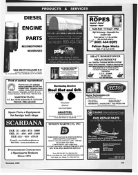 Maritime Reporter Magazine, page 123,  Nov 1999 Florida