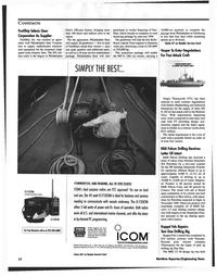 Maritime Reporter Magazine, page 12,  Nov 1999 surface mount technology