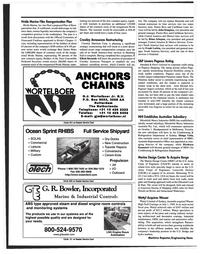 Maritime Reporter Magazine, page 22,  Nov 1999 G.J. Wortelboer Jr.