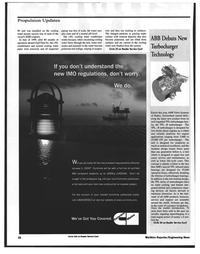 Maritime Reporter Magazine, page 26,  Nov 1999 engine applications