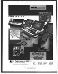 Maritime Reporter Magazine, page 34,  Nov 1999 integrated bridge systems
