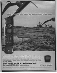 Maritime Reporter Magazine, page 41,  Nov 1999 satellite phone