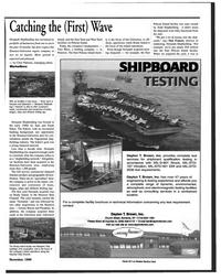 Maritime Reporter Magazine, page 49,  Nov 1999 Chris Palermo