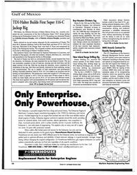 Maritime Reporter Magazine, page 54,  Nov 1999 Gabriela Alvarez-Morphy