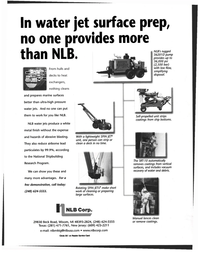 Maritime Reporter Magazine, page 55,  Nov 1999 white metal finish