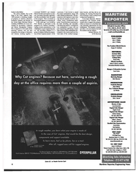 Maritime Reporter Magazine, page 4,  Nov 1999 Richard Thorsen
