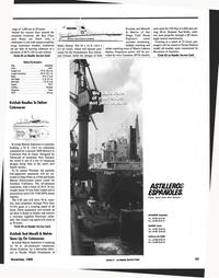 Maritime Reporter Magazine, page 87,  Nov 1999 Hawaii