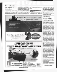 Maritime Reporter Magazine, page 88,  Nov 1999 Belle Chasse