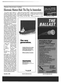 Maritime Reporter Magazine, page 21,  Dec 1999