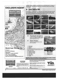 Maritime Reporter Magazine, page 2,  Dec 1999