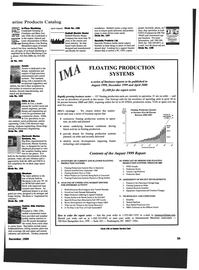 Maritime Reporter Magazine, page 55,  Dec 1999 recent developments impacting floater technology