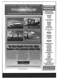 Maritime Reporter Magazine, page 4,  Dec 1999 New York