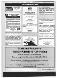 Maritime Reporter Magazine, page 68,  Dec 1999